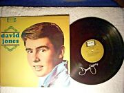 Monkees Davy Jones Self Titled 1965 Debut Signed Autographed Record Vinyl Rare