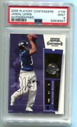 2000 Playoff Contenders Jamal Lewis Rc Ticket Auto 106 Psa 9 Mint