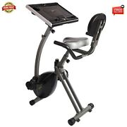 Wirk Ride Exercise Bike Workstation And Standing Desk 85-2221b