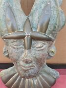 18 X 10 Accient Egyptian Wall Decorative Mask.
