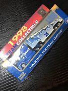 Nfl Football Semi Truck Tractor Trailer Collectible Detroit Lions 1998