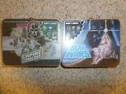 Culturefly Star Wars Empire Strikes Back And Star Wars Vintage Style Tin Lunchbox