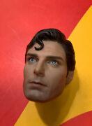Hot Toys Mms152 Christopher Reeve Superman The Movie 1/6 Head