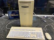 Apple Power Macintosh 9500/132- Keyboard And Mouse-tested-rare