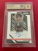 2018-19 Panini Prizm Rookie Signature Trae Young Autograph Auto Rc Sp Bgs 9.5 10