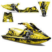 Graphics Kit Sticker Decal Wrap For Sea-doo Xp 1994-1996 Reaper Yellow