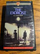 The Exorcist Vhs 1998 Widescreen 25th Anniversary Horror Possession Satan