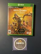 New Mortal Kombat 11 Ultimate Xbox Series X Xbox One Sealed Free Shipping