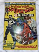 Amazing Spiderman 129 Stamp Intact 1st Appearance Of The Punisher Frank Castle