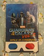 Super Hero Guardians Of The Galaxy Marvel Notebook Journal 3d Glasses