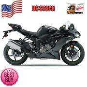 Fit For Kawasaki 2019-2020 636 Zx6r Injection Black Abs Plastic Fairings A001
