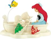 Department 56 Snowbabies Riding The Sea With Ariel Disney The Little Mermaid