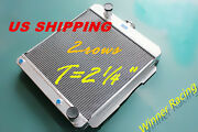 Aluminum Radiator Fit Chevy Delray Bel Air W/oil Cooler Engine V8 283/348 1958