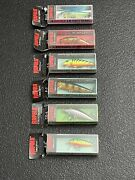 Lot Of 6 New In Box Unopened Rapala Lures Variety Fast Free Shipping Look A