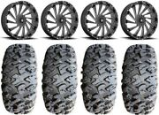Msa Blade 20 Wheels Milled 35 Motoclaw Tires Can-am Commander Maverick