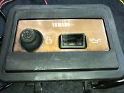 Yamaha Outboard 9.9hp T9.9elhq Front Panel Pilot Light And Starter Switch Oem