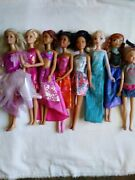 Huge Lot Barbies Clothes And Accessories 8 Dolls In All Barbie, Jojo, Frozen