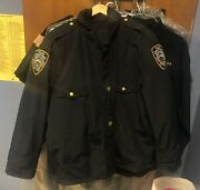 New York Police Department Official Jacket Nypd Size 52 Size Xl