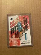 Nba Hoops Lamelo Ball Rise And Shine Jersey Patch And 2 Base Rookie Cards
