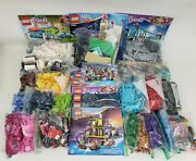 Lego 8+ Lbs Bulk Lot And Books Sorted Friends, Dc Super Hero Girls, Harry Potter