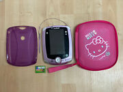 Leapfrog Leappad 2 Explorer Lot Learning System Purple Edition Game Hello Kitty
