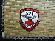 Patch_ Us Army 571st Aviation Medical Company Air Ambulance Dust Off Patch