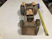 Antique Vintage Toy. Tonka Truck Tractor