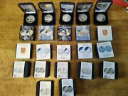 10 Euro Silver Coins - Finland - 2002-2011 - 22 Different - Proof