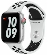 Apple Watch Series 6 Nike 40mm Aluminum Case With Pure Platinum Gps + Cellular