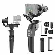 Moza Mini P Smartphone Gimbal Stabilizer Foldable 3 Axis For Mirrorless Camer...