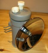 Justrite 3-300 Miners Lamp Carbide Lantern With Missing Parts