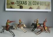Texas Cowboys And Indians Made In Spain 1953 By Reamsa