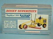 Dinky Toys Meccano France Original Box Only 886 Richier Profileur 100 Grader
