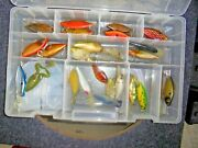 Vintage Lot Of 24 Fishing Lures