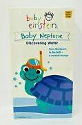 Baby Einstein Baby Neptune - Discovering Water Vhs Rare Vintage New Sealed