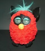 Hasbro Furby Boom Figure Red And Black Interactive Talking Toy 2012 Works