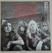 Slayer Signed Autogramm Autograph South Of Heaven Lp Signed In 1990