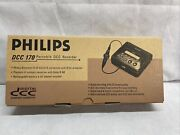 Brand New Philips Dcc 170 Portable Digital Compact Cassette Recorder 🔥amazing🔥