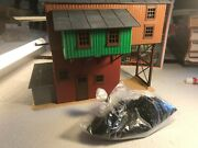 🚅 Lionel Coaling Station - Assembled - With Bag Of Coal- Nice 💥 Y214