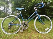 1970andrsquos Rare Vintage Flying Otasco Ultra Ten Speed Blue Womens Bicycle