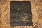 Uss Midway Cv-41 Med Cruise 1947-1948 Old Original Cruise Book