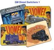 Lionel Gm Switers 600, 601, 602, 610, 611, 613, 614, 614f, Teat Mouse Pads