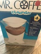 New Cocomotion Mr Coffee Automatic Hot Chocolate Maker 4 Cup Milk Frother