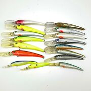 Lot Of 16 Manns Trolling Lures Stretch 25s And Manns Stretch 15 20 + Others