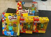 Simpsons World Of Springfield Pin Pals Collection - Playset, Figures, Exclusives