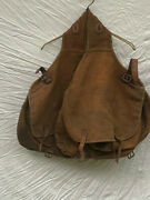 Empire Of Japan Travel Bag Horse Food Harness Saddle Bag Brown Cavalry Antique