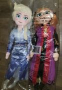 Disney Frozen 2 Singing Elsa And Anna Plush Doll 25 Avon New In Sealed Package