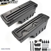 Fit For Dodge Ram 1500 2500 3500 Left And Right Lockable Storage Truck Tool Box