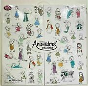 Animators Collection From Disney Store 5 Mini Doll 15 Gift Set In Display Box
