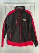 Official Abarth Merchandise Softshell Jacket Black And Red Size Xl